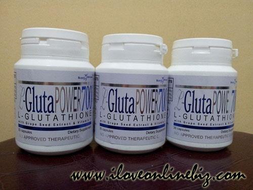 Royale L-Gluta Power 700 Glutathione Capsule Review