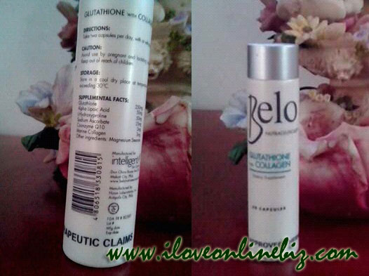 Belo Glutathione with Collagen Capsule Review